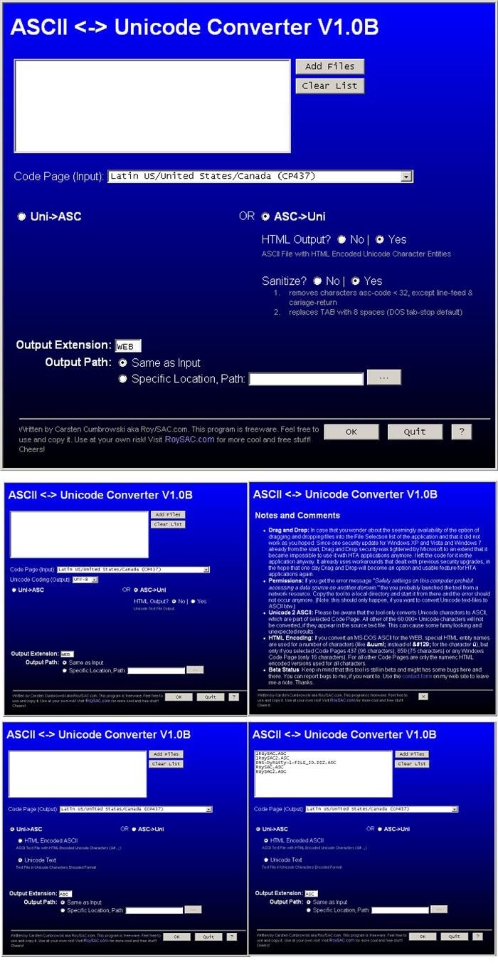 ASCIIConverterExtendedGUI