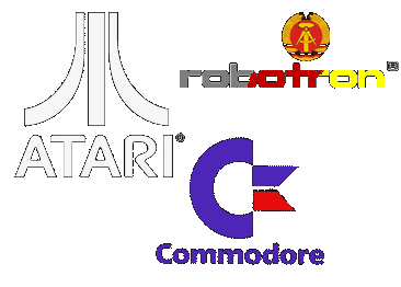 Atari-Commodore-Robotron