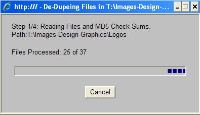 DeDupeScript-Progres