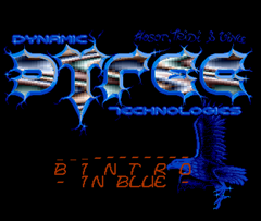 Dytec - Bintro in Blue for Amiga-2062
