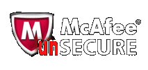 mcafee-unsecure-logo