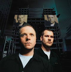 VNV Nation, Ronan Harris and Mark Jackson